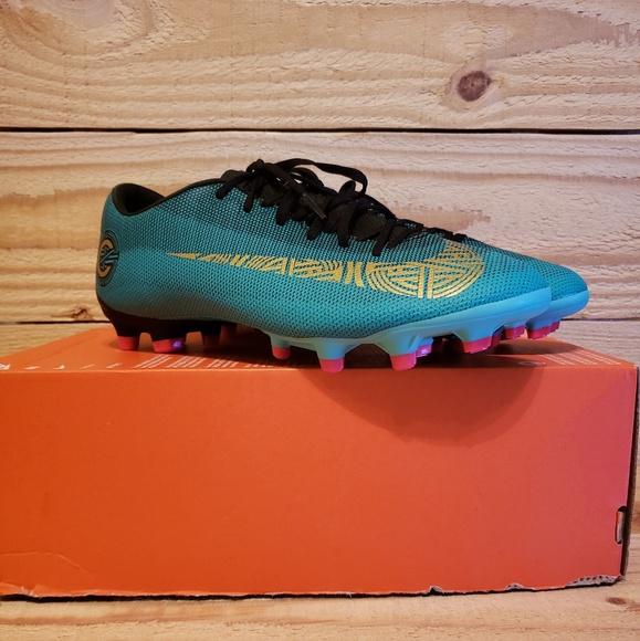 new style a750b 692c7 Nike Mercurial Vapor 12 Academy CR7 AJ3721-390 FG NWT